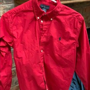 Polo by Ralph Lauren Shirts - Classic styling! Red RL Polo dress shirt.